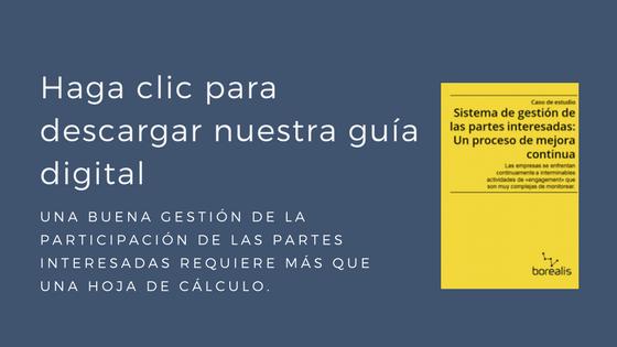 GESTIÓN DE LA PARTICIPACIÓN DE LAS PARTES INTERESADAS