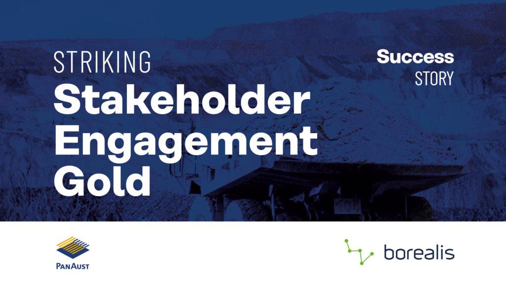 striking stakeholder engagement gold