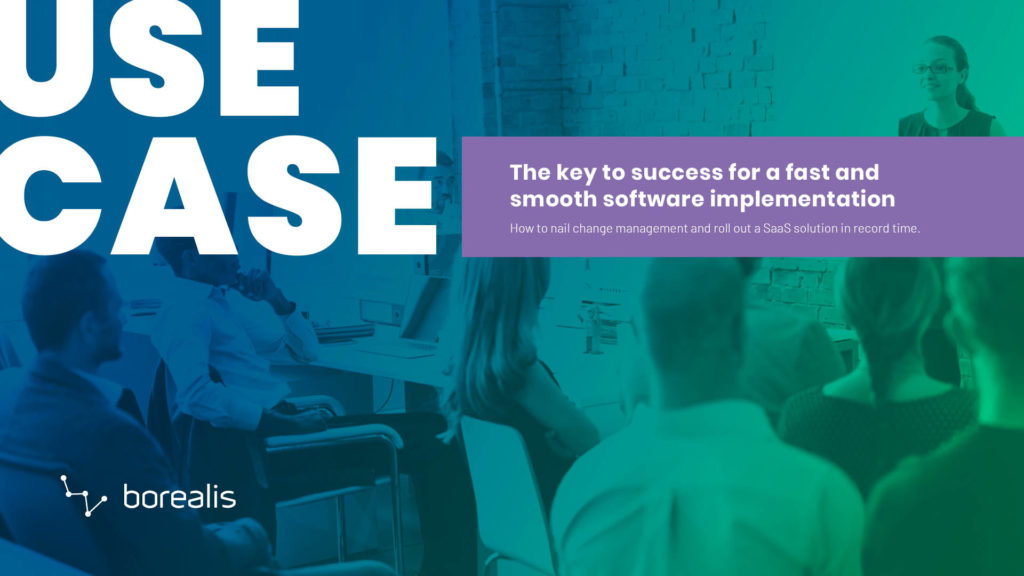 The key to success for a fast and smooth software implementation