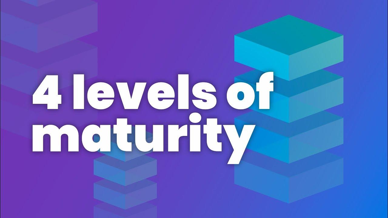 4 Levels of Maturity