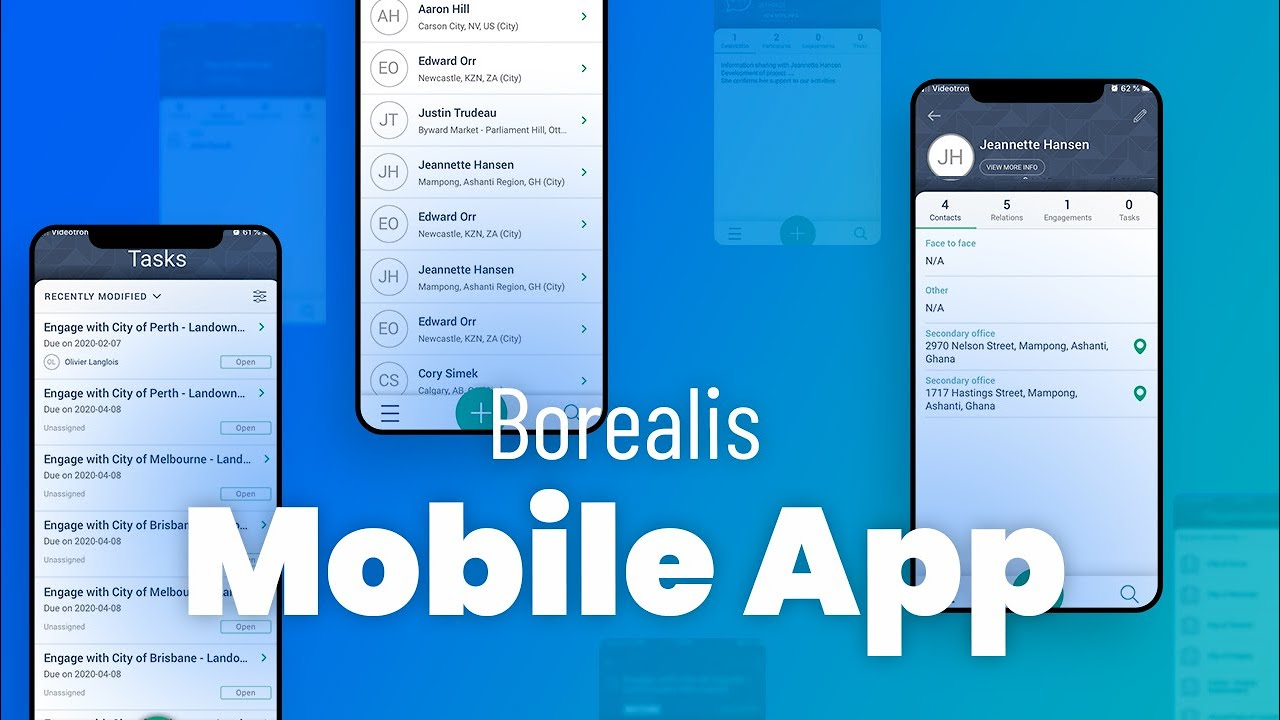 Borealis Mobile Application
