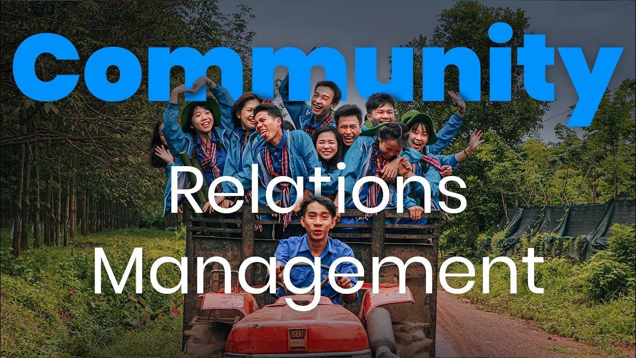 Community Relations Management