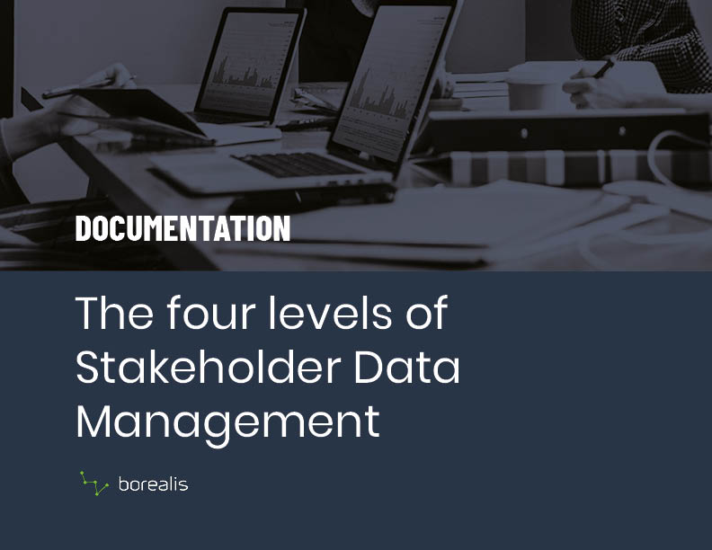 Four Levels of Stakeholder Data Management