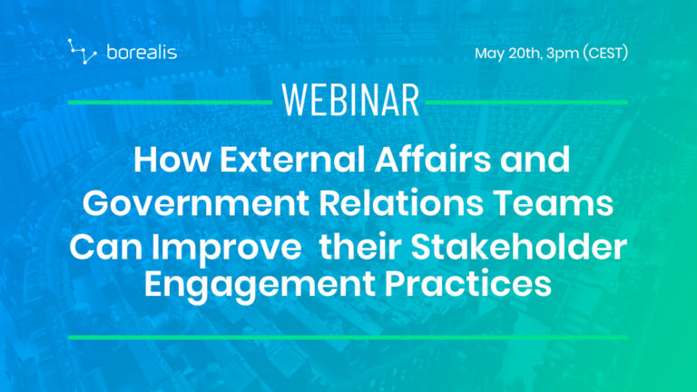 How External Affairs and Government Relations Teams Can Improve their Stakeholder Engagement Practices
