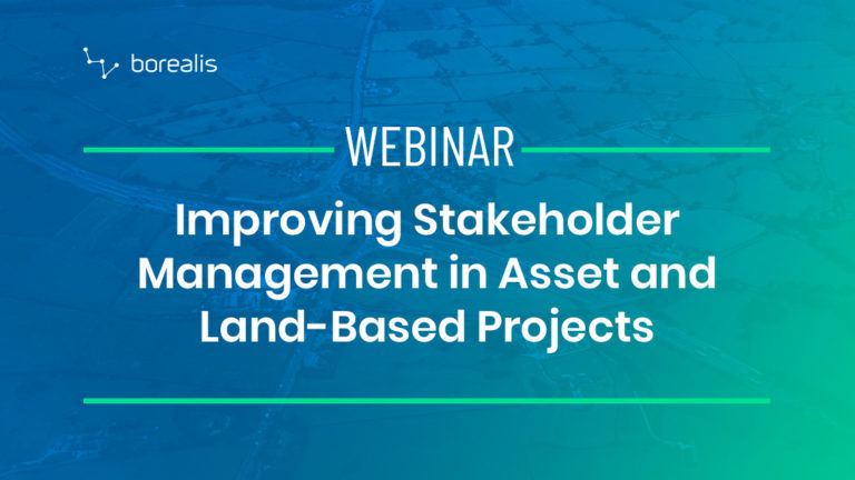Improving Stakeholder Management in Asset and Land-Based Projects