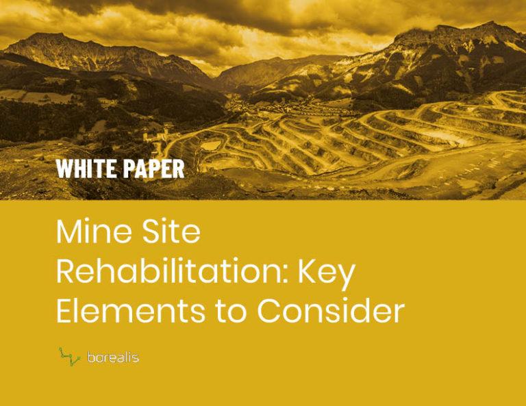 Land Site Rehabilitation White Paper