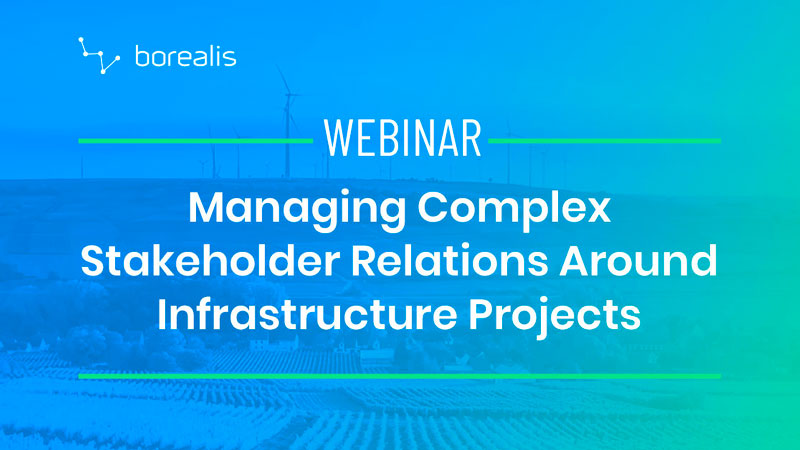 Managing Complex Stakeholder Relations Around Infrastructure Projects